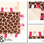 7c-2013-0001-Pink-Beige-Giraffe-Tag-Blanket-PREVIEW---Odds-&-Soxlets---Copyright-Erica-Martyn