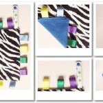7c-2013-0007-Blue-Zebra-Tag-Blankets-&-Bibs-PREVIEW---Odds-&-Soxlets---Copyright-Erica-Martyn