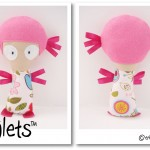BRIGHT-PINK-GIRL-Dinkie-Dollie-Taglets-PREVIEW-Copyright-Erica-Martyn