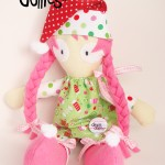 CHRISTMAS-ELF-PINK-Hair-GIRL-Dinkie-Dollie-LARGE-PREVIEW-Copyright-Erica-Martyn