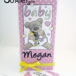 Teddy-Bear-Soxlet-Tall-Illustrated-Card---Odds-and-Soxlets---Copyright-Erica-Martyn