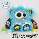 Monstroubles-Batch-04-6b-2016-005-Biddy-Turquoise-Monster-Mash-Odds-and-Soxlets-Copyright-Erica-Martyn-PREVIEW-FULL