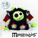 Monstroubles-Batch-15-6b-2015-0036-DRAGON-Black-Lime-Red-Odds-and-Soxlets-Copyright-Erica-Martyn-PREVIEW-FULL
