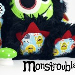 Monstroubles-Batch-15-6b-2015-0036-DRAGON-Black-Lime-Red-Odds-and-Soxlets-Copyright-Erica-Martyn-PREVIEW-TOES