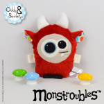 Monstroubles-Batch-2-6a-2015-001-Red-Neutral-Dirty-Dots-Odds-and-Soxlets-Copyright-Erica-Martyn-PREVIEW