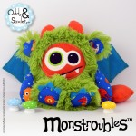 Monstroubles-Batch-22-6b-2015-0053-DRAGON-Green-Orange-Ocean-Odds-and-Soxlets-Copyright-Erica-Martyn-PREVIEW-FULL