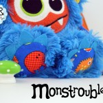Monstroubles-Batch-22-6b-2015-0055-DRAGON-Blue-Orange-Yellow-Ocean-Odds-and-Soxlets-Copyright-Erica-Martyn-PREVIEW-TOES
