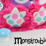 Monstroubles-Batch-3-6b-2015-004-Bright-Pink-Lovely-Dots-Odds-and-Soxlets-Copyright-Erica-Martyn-PREVIEW-FEET