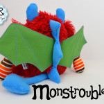 Monstroubles-Batch-4-6b-2015-006-DRAGON-Red-Blue-Green-Stripesl-Odds-and-Soxlets-Copyright-Erica-Martyn-PREVIEW-BACK