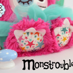 Monstroubles-Batch-4-6b-2015-009-FAIRY-Bright-Pink-Teal-Stars-Odds-and-Soxlets-Copyright-Erica-Martyn-PREVIEW-FEET