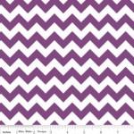 Riley Blake - Small Chevrons - Purple