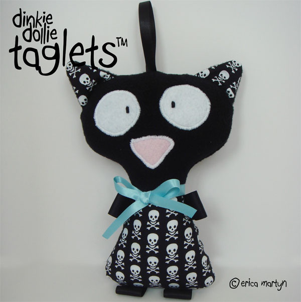 Kitty Cat BOYS Taglet Doll