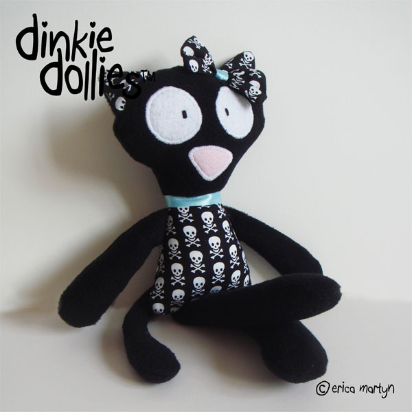 Kitty Cat GIRLS Dinkie Doll