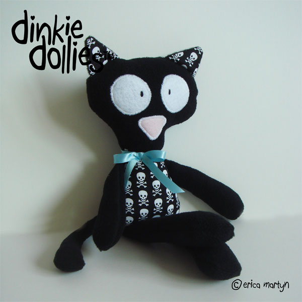 Kitty Cat BOYS Dinkie Doll