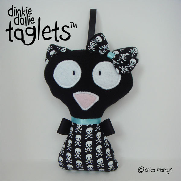 Kitty Cat GIRLS Taglet Doll